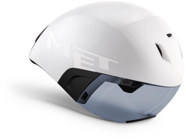 MET Codatronca Kask rowerowy, white